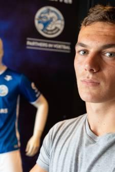 FC Den Bosch-spits Jizz Hornkamp tot na de winterstop uitgeschakeld