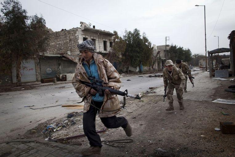 Syrische rebellen, Beeld ANP