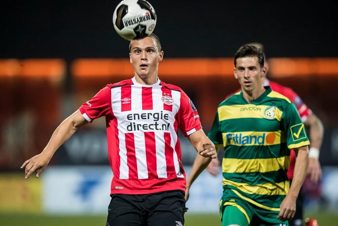 Damian van Bruggen is na maandagavond 'recordbelofte'.