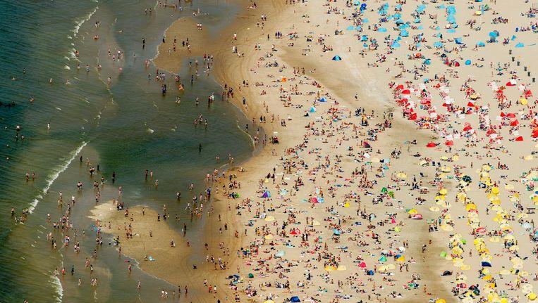 Het strand van Zandvoort Beeld ANP