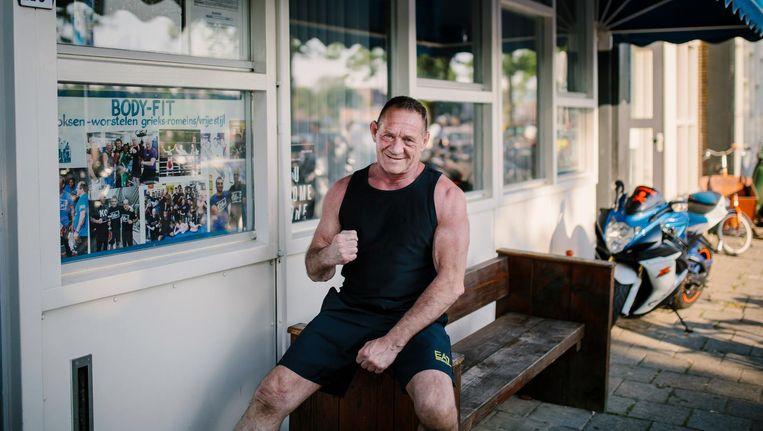 Bert Kops: 'Ik kreeg foute vrienden. Mijn vader heeft me gered met deze sportschool.' Beeld Marc Driessen