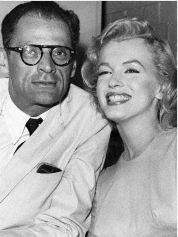 Monroe en Arthur Miller zouden in 1961 scheiden.