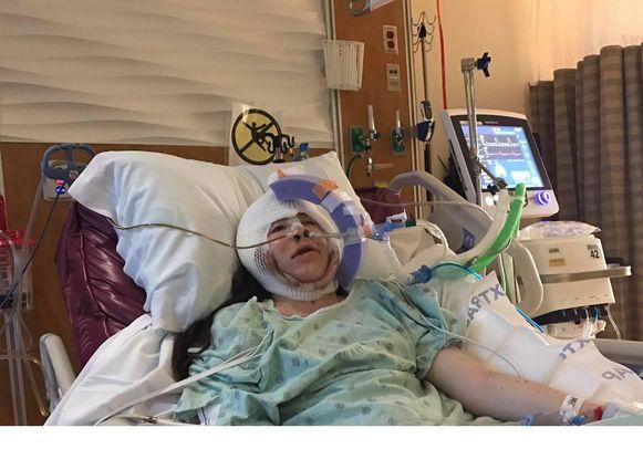 Ivanka na haar operatie in de VS