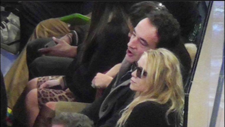 Mary-Kate Olsen en Olivier Sarkozy