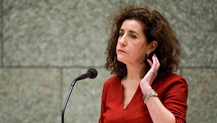 Minister Ingrid van Engelshoven (D66) van Onderwijs, donderdag. Beeld Freek van den Bergh / de Volkskrant