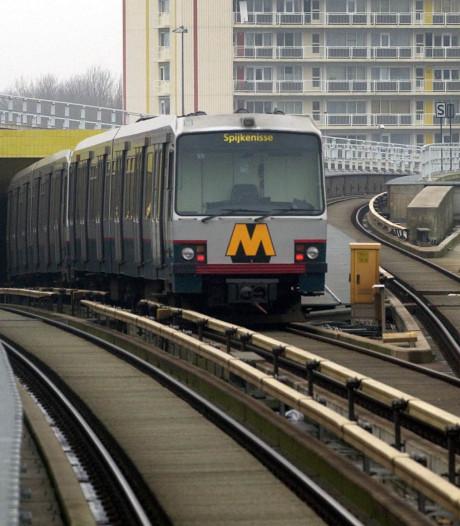 Metroverkeer Schiedam Centrum komt weer op gang