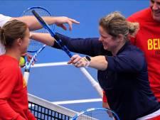 Clijsters s'entraîne avec l'équipe de Fed Cup, avant une surprise?
