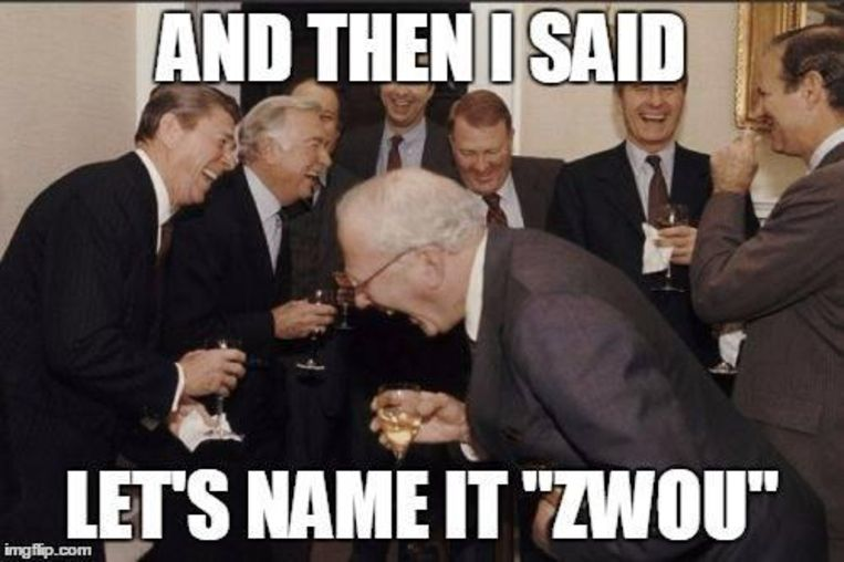 Op hun Facebookpagina lachten de Jongsocialisten met de nieuwe naam.