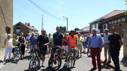 Okra strikt Johan Museeuw voor fietstochtje