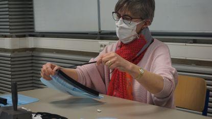 Leerkrachten Sint-Paulusschool gooien zich op productie van mondmaskers: tot wel 6.000 stuks
