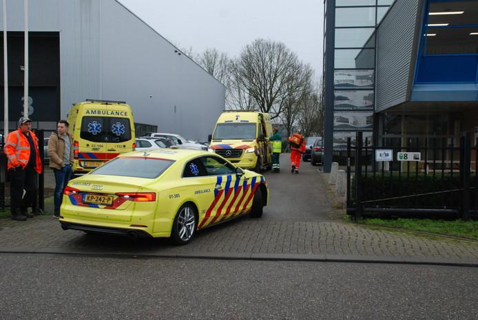 Op het bedrijventerrein aan de Staart in Boxtel vond vrijdag een bedrijfsongeval plaats.