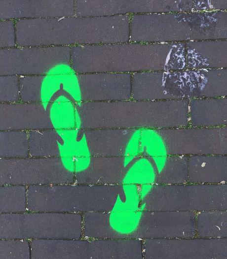Groene voetjes in centrum Gemert