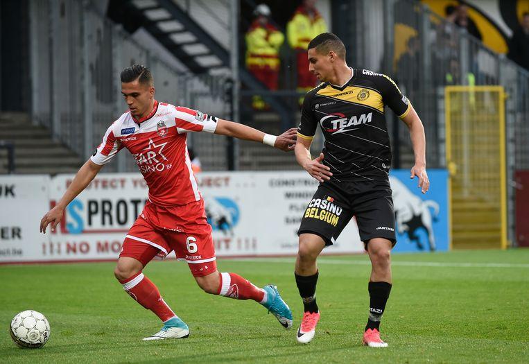 Cristian Manea (l) en Mohamed Ofkir.