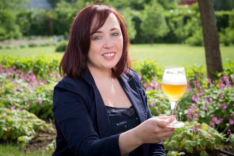 Biersommelier Sofie Van Rafelghem.