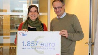 Solidariteit na brand: 1.857 euro voor 't Hofke