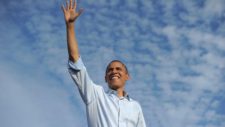 Waarom koos president Obama de scientist uit voor een hart onder de riem? Beeld AFP