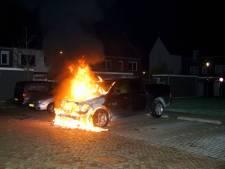 Geparkeerde truck gaat in vlammen op in Kaatsheuvel