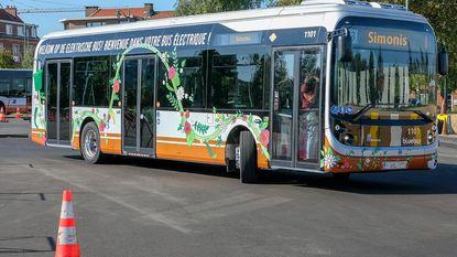 En route met eerste elektrische bus MIVB