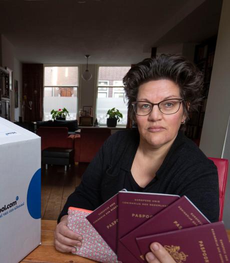 Inge overdonderd door alle reacties na vondst  paspoorten in pakket Bol.com