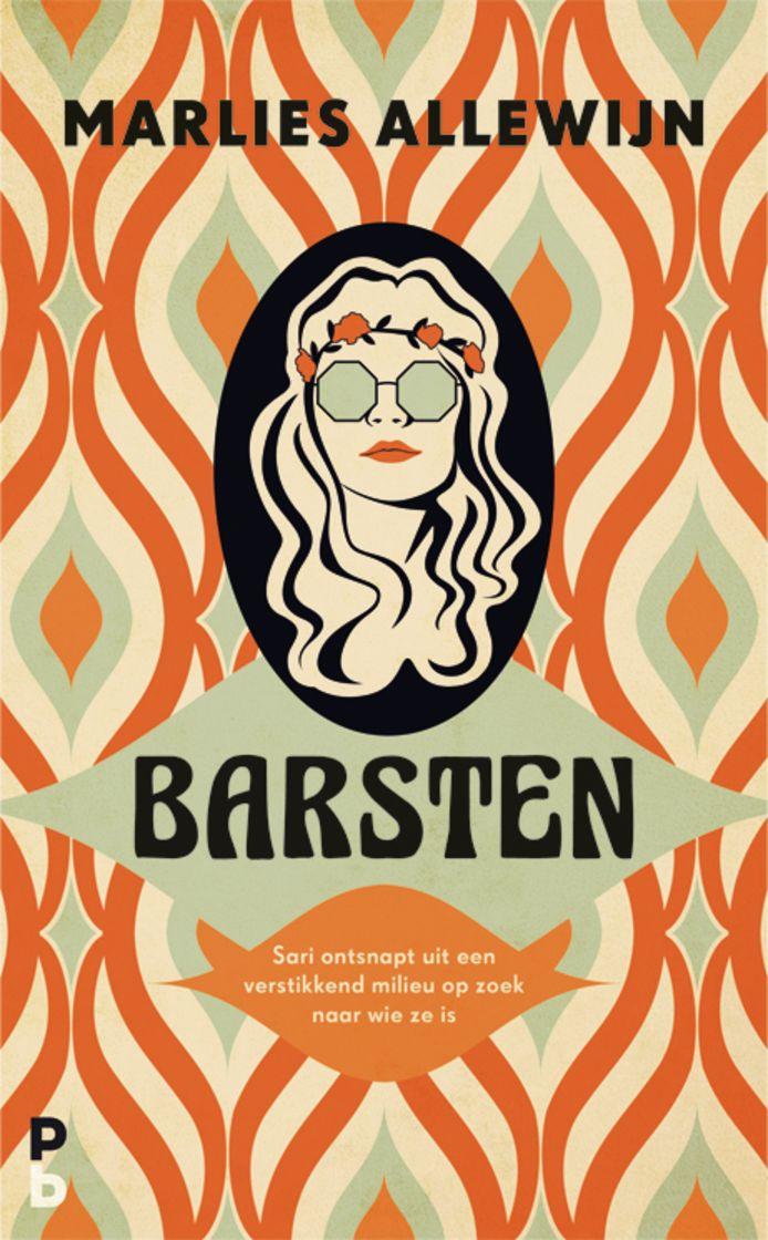 cover Barsten, de nieuwe roman van Marlies Allewijn