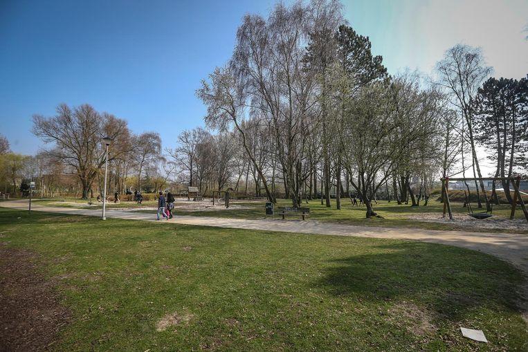 Het Kapermolenpark zoals het er nu bijligt.