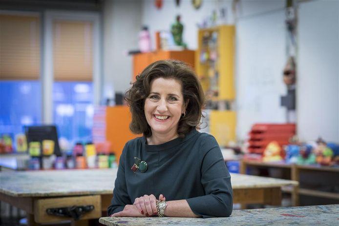 Minister Ingrid van Engelshoven van Onderwijs, Cultuur en Wetenschap