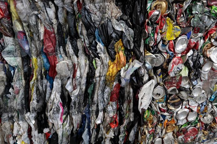 Plasatic afval.