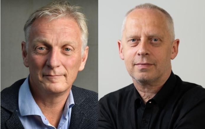 Rob Wissink (links) en Teun Staal