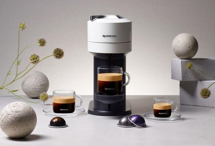 La nouvelle machine green et connectée de Nespresso.