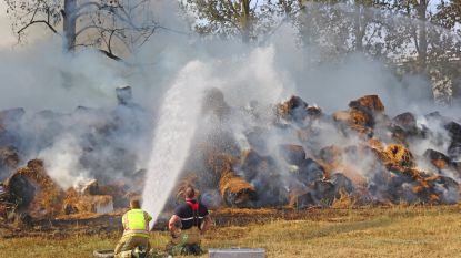 Tiener die balen in brand stak, geplaatst in gesloten instelling