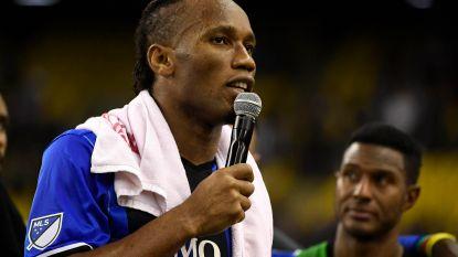 Hoezo, Drogba stopt met voetballen? Ivoriaan sluit carrière nog niét af (en maakt dat met geweldige tweet duidelijk)