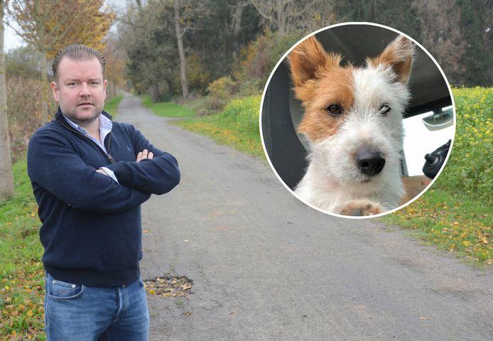 Kristoff Van Havere espère que l'homme qui a poignardé son chien sera vite retrouvé.