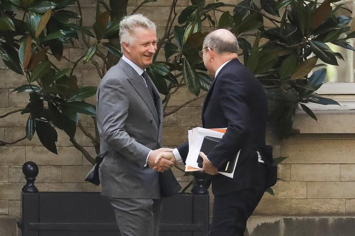 Koen Geens a fait rapport au Roi ce lundi 20 février 2020.