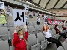 Affaire des poupées sexuelles en tribunes: la Ligue coréenne va enquêter