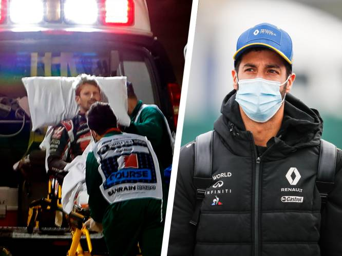 """Ricciardo walgt van Formule 1: """"Ze maakten entertainment van de crash van Grosjean"""""""