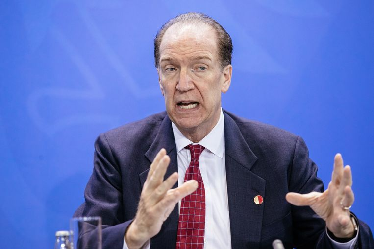 President van de Wereldbank David Malpass