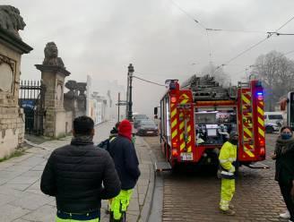 Brand in Bozar: brandweer ter plaatse na vlammen op dak