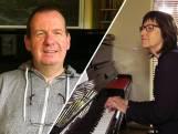 Kristoffer maakt concert met honderden piano's vanuit huis