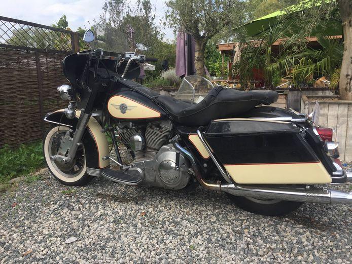 Van de Harley Davidson ontbreekt voorlopig elk spoor.