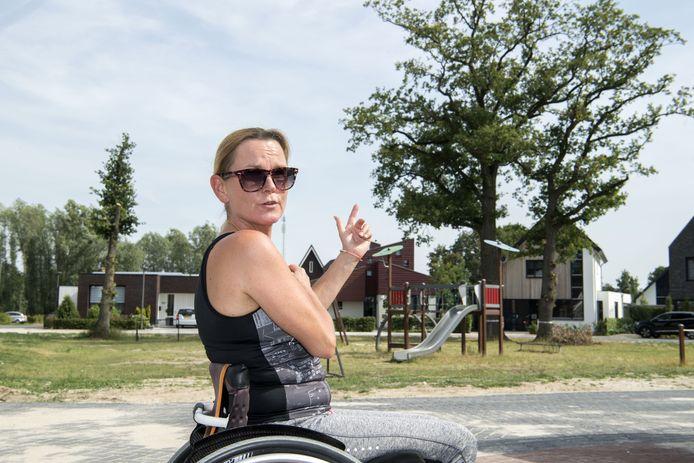 """Nicole Schefer: """"Ik heb met mijn linkeroog nog maar 15 procent zicht."""""""