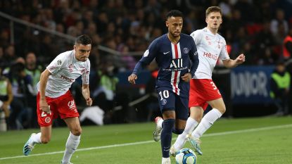 PSG ruim langs Angers in Franse topper, Neymar pikt weer goaltje mee