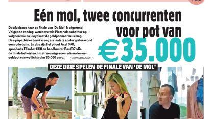 Eén mol, twee concurrenten voor pot van €35.000
