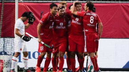 Red Lions meteen op de afspraak: België opent EK met ruime zege tegen Spanje