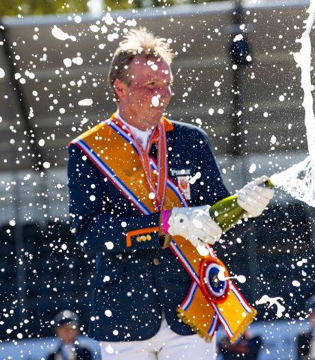 Ruiter Frank Hosmar uit Haarle wint negende nationale titel