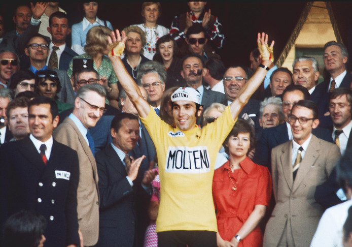 1974: Eddy Merckx wint de Tour.