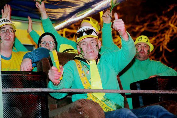 Keizer Filip Bienstman tijdens een eerdere editie van Carnaval Heist