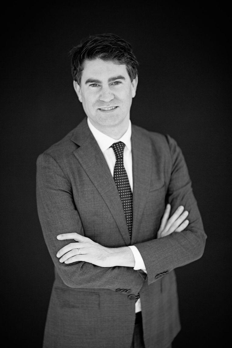 Stijn de Blaaij Partner bij Spring Real Estate Beeld -