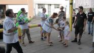 Beweging.net houdt Graag Traag-actie aan schoolpoort