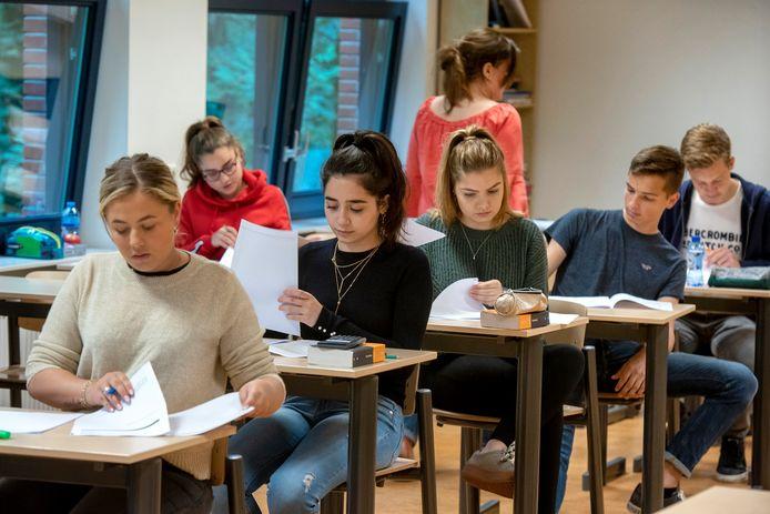 Archieffoto Dorenweerd College, 2018