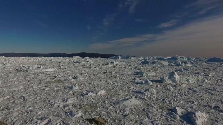 Jakobshavn gletsjer groeit terug